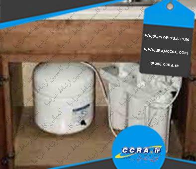 ابعاد کلی دستگاه تصفیه آب خانگی واتر سیف به همراه مخزن ذخیره چقدر است؟