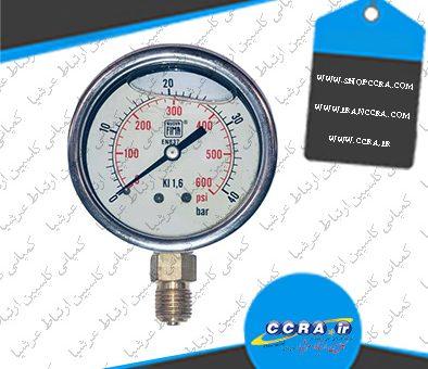 مزیت استفاده از گیج فشار روغنی در دستگاه های تصفیه آب خانگی واتر سیف