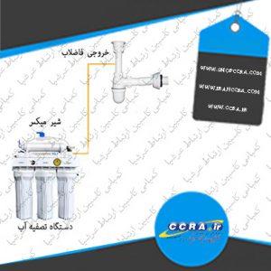 مقدار پساب خروجی از دستگاه های تصفیه آب خانگی واترسیف