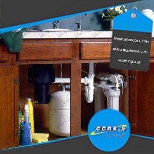 محل نصب دستگاه تصفیه آب خانگی اسمز معکوس واتر سیف
